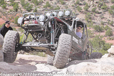 Moses Ludel's 4WD Mechanix Magazine – HD Video: Area BFE Run at the 2012 Moab Jeep Safari