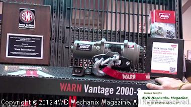 Warn's SEMA Award for OHV winch series