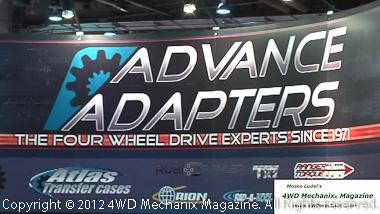 Advance Adapter at 2012 SEMA Show