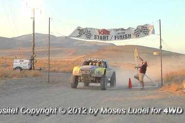 Second Place in a 500 mile race is tops!