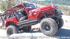 Dan Hiney tests his 4.2L Jeep six with the MSD Atomic EFI on the Rubicon Trail