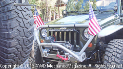 Kevin Carey's 2007 Jeep JK Wrangler ready for the WFTW Rubicon Super Event!