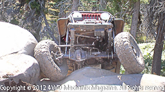 Rubicon Trail 4x4 action