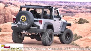 2013 Bestop Jeep JK Wrangler on the slickrock at Moab