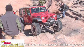 Warn 2013 Moab Media Run with winching exercise