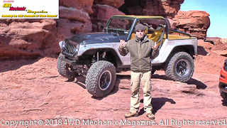 New Mopar/Jeep concept vehicle presented by Mark Allen