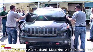 2014 Cherokee debut at 2013 Moab Jeep Safari