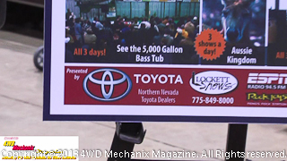 Toyota Dealers and Lockett Shows makes the Reno Off-Road Expo possible!