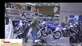 Motorcycles are a large part of the off-road vehicle community!