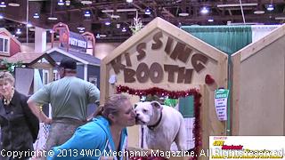 2013 Reno Home & Garden Show boxer kisses