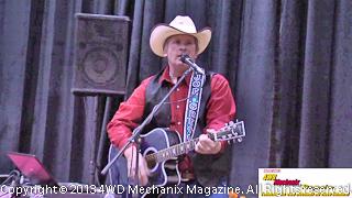 Joseph E. Greco sings before the 2013 Reno Home & Garden Show crowd!