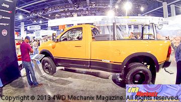 Mopar Case Ram truck
