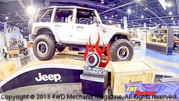 Jeep Mopar's Wrangler Recon concept vehicle at 2013 SEMA Show