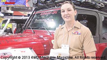 Sarah Chappell's Jeep 4x4