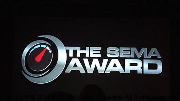 2014 SEMA Show New Products and Hottest Vehicle Awards