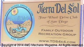 2014 Tierra Del Sol Desert Safari at the Anza-Borrego