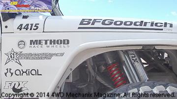 Larry McRae's Poison Spyder Race Jeep #4415 Ultra4