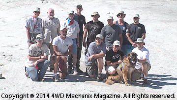 Mark Elliott, WFTW driver volunteers and vet guests
