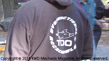 Volunteers like TDO 4x4 Club members make the WFTW events possible.