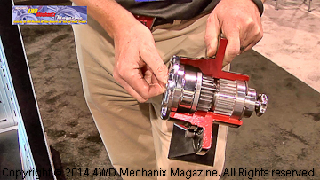 Ford Super Duty front wheel hubs by Warn