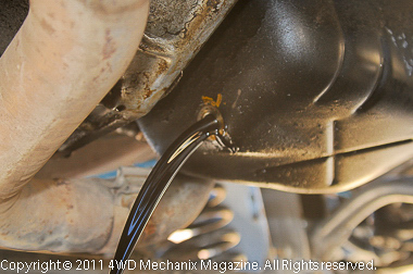 Moses Ludel's 4WD Mechanix Magazine – How-to: Winter Oil and Filter Change