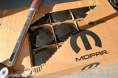 Mopar filters by the case—that's long-term insurance!