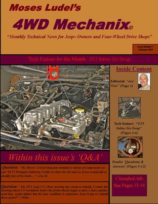 Moses Ludel's 4WD Mechanix Magazine – 4WD Mechanix Magazine Back Issue Downloads