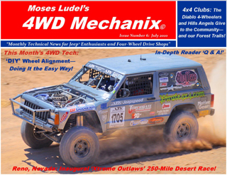 Click here for a download of the July 2010 issue of 4WD Mechanix Magazine. Allow time for downloading.