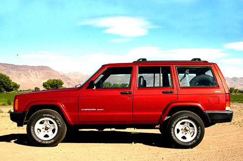 Stock '99 XJ Cherokee with 8.25
