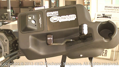 Shifters and console are easier, with rugged components.