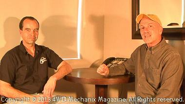 Moses Ludel interviews Mike Partridge at Advance Adapters.