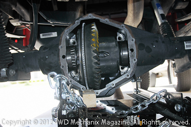 4.56 gear change for the Dodge Ram 3500