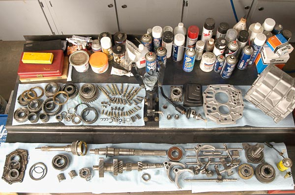 Moses Ludel does a 209-step rebuild of the Jeep AX15 five-speed transmission!