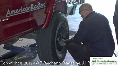 Time for a tire change!