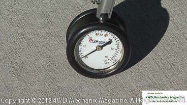 Use a quality tire pressure gauge on cold tires.