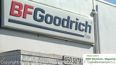 B.F. Goodrich is our pick for multipurpose tires.