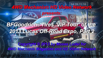 BFGoodrich Tires booth at the 2013 Lucas Off-Road Expo