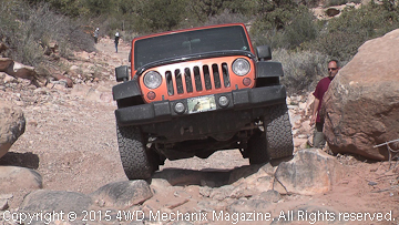 Jeep JK Wrangler owners learn to four-wheel at BFG event.