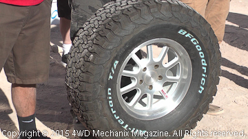New BFG All-Terrain T/A KO2 tire presentation