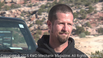 Randy Slawson winner of the 2015 King of the Hammers Race