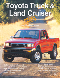 Moses Ludel's Toyota Truck & Land Cruiser Owner's Bible (Bentley Publishers)
