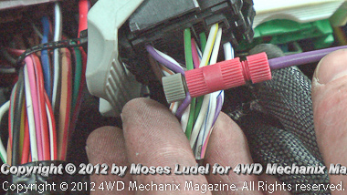 'Posi-Taps' dramatically simplify the PowerBoard wiring splices.