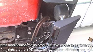Installing the Bestop rear TrekStep on a Ram Truck