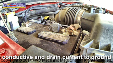 Parasitic loss of voltage from automotive batteries