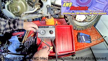 Snap-On MT324 cylinder leak down tester