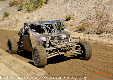 Brad Falin and Rob Daly qualifying for the KOH at Glenn Helen October 2011...Photo Courtesy of Andy Robertson Photography.