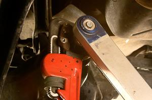 Dana 30 axle rebuild Step 13.