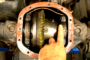 Dana 30 axle rebuild Step 22.