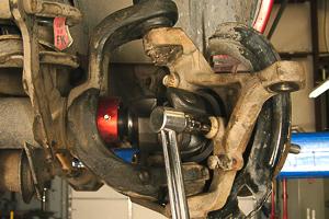 Dana 30 axle rebuild Step 24.