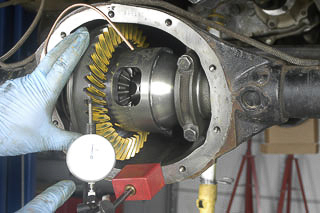 Setting up a ring-and-pinion the right way!